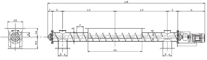 BFD 分散型-フレア形状-直結型