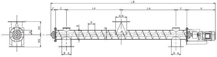 BPD 分散型-パイプ形状-直結型