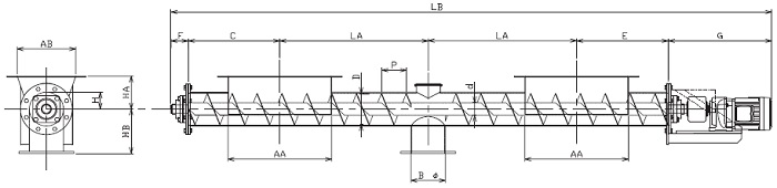 IFD 集約型-フレア形状-直結型