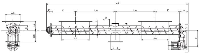 IFJ 集約型-フレア形状-上下型