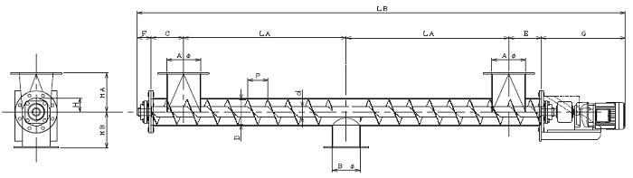 IPD 集約型-パイプ形状-直結型