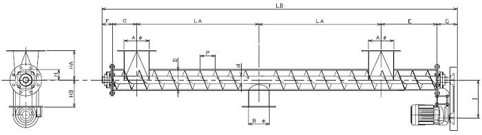 IPJ 集約型-パイプ形状-上下型