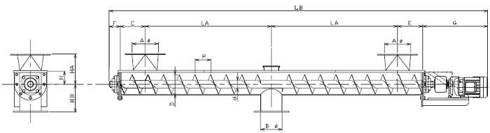 IUD 集約型-U字形状-直結型