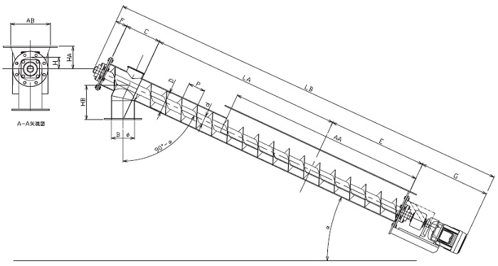 LFD 縦型-フレア形状-直結型