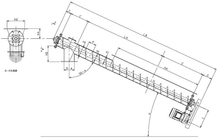 LFJ 縦型-フレア形状-上下型