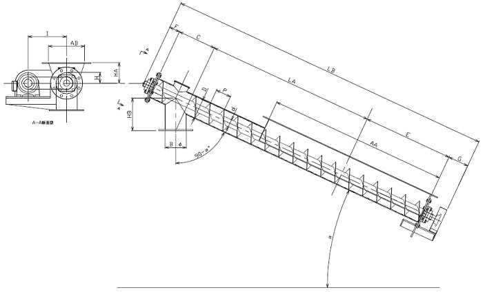 LFS 縦型-フレア形状-横型