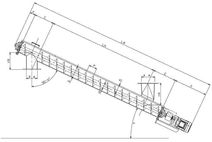 LUD 縦型-U字形状-直結型