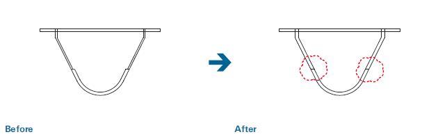板厚の共通化による溶接工数削減のポイント