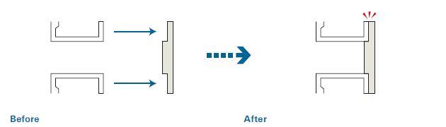 段付き構造による組立て工数削減のポイント