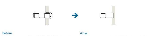 接粉部の溶接構造化による品質向上(粉漏れ防止)のポイント