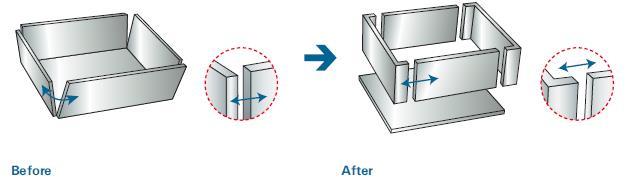 ホッパー部 角部溶接の改善による品質向上のポイント