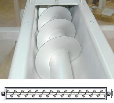 1軸スクリューフィーダー