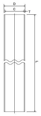 ステンレス鋼サニタリー管